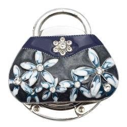 Kreativ Faltbare Handtasche Aus Kristall Tasche Mit Haken Tischhalter