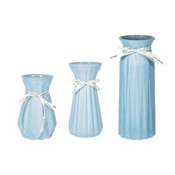 Modieus en goedkoop handgemaakt tafelblad Bloemenhouder Nordic Coloured Glass Vaas
