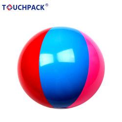 Arco-íris de cores 6 Bolas de praia tradicional Festa da piscina brinquedos 12PCS uma Pack