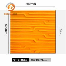 Управление орнамент огнеупорные материалы 3D полиэфирные волокна продукта