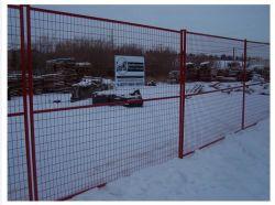 الشبكة المؤقتة للجدار المصقول بمسحوق كندا