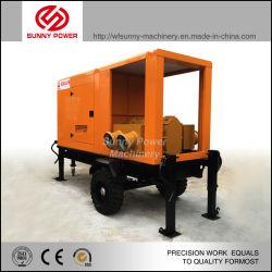 سعر مجموعة مضخات مياه محرك الديزل المحمول 5HP مقاس 4 بوصة 6 بوصة، 10 مضخات الري الزراعي القابلة للنقل
