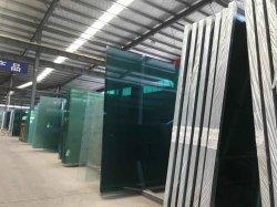 Hardware di vetro per il sistema di vetro della balaustra dell'installazione della balaustra