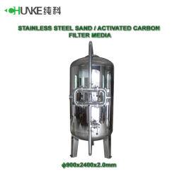 Le filtre à eau Making Machine SS304 réservoir sous pression en acier inoxydable