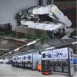 Posicionamento do manipulador de detecção visual de equipamentos de produção