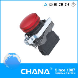 مفتاح الضغط CB4-BV61 مع ضوء مؤشر المفتاح N/O