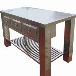 Comercial personalizada Cocina Armario de Cocina de acero inoxidable