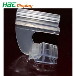 حامل علامة PVC ناعم الشكل على شكل حرف T من السوبر ماركت مع لاصق الشريط