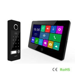 Déverrouiller le mot de passe de la vidéo HD Interphone Interphone de téléphone du système de porte