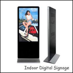 55 duim Volledige HD die Adverterend Media Player die LCD van de Kiosk Digitale Signage adverteren bevinden zich