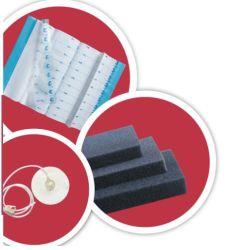 Kit de vestir Npwt para tratamento de feridas de pressão negativa de película de espuma preta