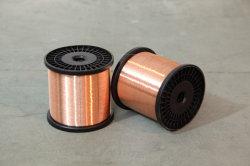 Cable de un solo núcleo de aluminio recubierto de cobre magnesio CCAM Cable con aislamiento de PVC