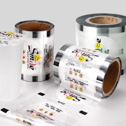 Dichtungs-Film-Rolle des Verpacken- der LebensmittelplastikPet/PP/PEVA heiße für Papiercup-Flasche /Plastic-pp.