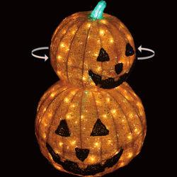 Украшение для улицы светодиодное освещение мотив Pumpkin украшение Хеллоуина
