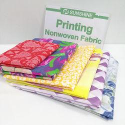 Excelente Casa Textiles Nonwoven Fabric diseño impreso