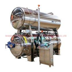 産業食糧ガラスは滅菌装置のオートクレーブの/Retortの滅菌装置を処理する缶を震動させる