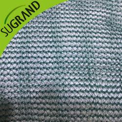HDPE 85GSM, grüne Verpackungs-Netz-Getreide-Filetarbeit der Frucht-90GSM