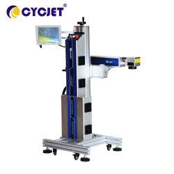 Cycjet Lf50fのHDPE&PVCの管のためのオンラインファイバーのレーザ・プリンタ