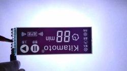 De standaard Ultra-Low Cijfers van de Temperatuur Tn LCD van 7 Segment Vertoning