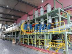Alto gasolio di plastica residuo completamente continuo di nero di carbonio della gomma di gomma del rendimento dell'olio che ricicla il fornitore di pianta di pirolisi 30tpd 70tpd