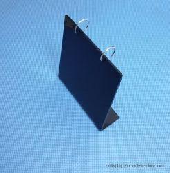 Forme de l noir permanent Calendrier de Bureau présentoir en plexiglas