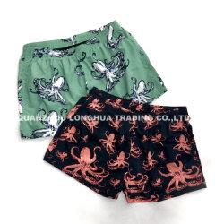 Shorts di nylon di nuotata del ragazzo degli uomini con stampa dei polipi