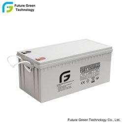 12V 200ah Lead Acid-opslagbatterijen voor projecten op het gebied van zonne-energie