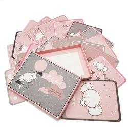 Jalon de papier personnalisé Bébé, jeu de cartes, carte mémoire, carte d'apprentissage Xiamen