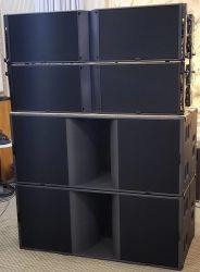 L 음향효과 K2 스피커 상자 선 배열 3방향 이중 12inch 네오디뮴 시스템