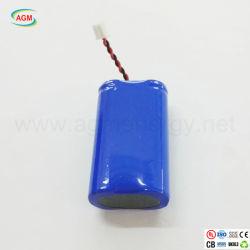 L'IC 3,7 V14500 1600mAh Batterie au lithium pour lampe de poche portable