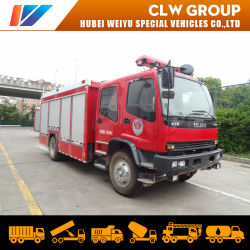 Isuzu Fvr 240CV 6tons Camiones de Bomberos 4t Agua 2tons Productos Químicos Espumosos Lucha contra Incendios para Chile