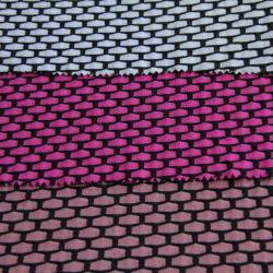 il poliestere di nylon 320GSM ha mescolato il tessuto lavorato a maglia con la stirata di Lycra