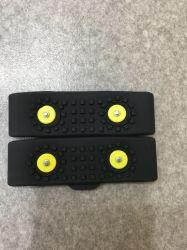 2 зубьями для использования вне помещений снег силиконового герметика Anti-Skid Crampons