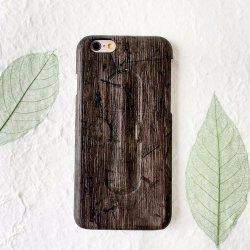 Popolare imitare la cassa di legno del cuoio della cassa del telefono per il iPhone