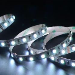 indicatore luminoso di striscia flessibile di RGB LED 60LEDs/m LED del nastro resistente all'acqua di 14.4W SMD5050