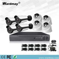 8chs alarma HD 1.0MP casa de seguridad completa cámara CCTV DVR System