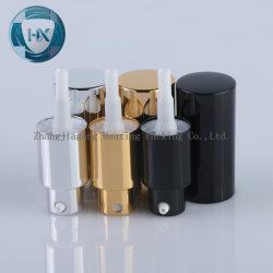 Fantastische kosmetische Duftstoff-Spray-Pumpe, silberne Goldschwarz-Sahne-Pumpen-Aluminiumzufuhr, Lotion-Zufuhr, Sahnezufuhr, Öl-Zufuhr, kosmetische Zufuhr