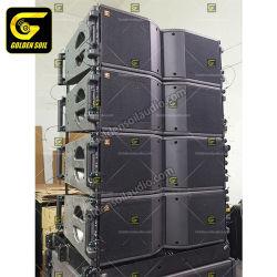 Audio doppio Kr208 di Goldensoil una riga altoparlanti alimentati altoparlante da 8 pollici della cassa di risonanza Kr208 del DJ di schiera