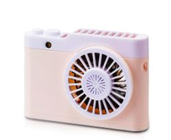 Mini-ventilador portátil piscina pequena Sist bateria recarregável USB refrigeração eléctrica Ventilador Mini