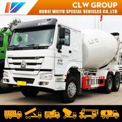 Sinotruk HOWO 6X4 Mezclador de concreto camión de la mezcla de 340HP para la construcción