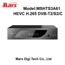 몽타주 8051 Hevc H.265 DVB-T2 DVB-S2 DVB-C 고정되는 최고 상자