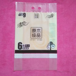 Plastic Zak voor het Toiletpapier van de Verpakking/Servet Tisssue/Plastic Zak van de Zak van het Weefsel van de Keuken de Verpakkende