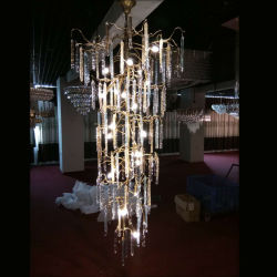 حديث بلّوريّة نحاسة ثريا مصباح إنارة لأنّ فندق مشروع
