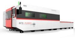 Волокна лазерная резка машины с помощью обмена информацией в таблице для металлообработки-1000W