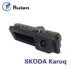 HD cámara de marcha atrás con la visión nocturna para Skoda Karoq
