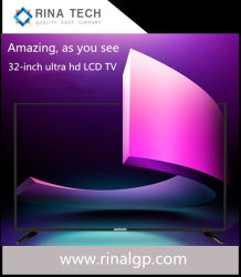 아시아의 베스트셀러 Ultrathin 매우 HD Customizable LED LCD 텔레비젼