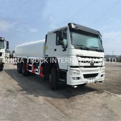 Sinotruk HOWO 20000liters 6X4多機能水スプリンクラーのトラックの手段