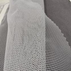 Commerce de gros Semi-Dull en nylon Tissu Tulle brodé dentelle souple