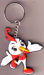 3D-ПВХ цепочки ключей для рекламных подарков