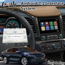 De VideoInterface van de auto voor Impala Chevrolet/GPS van Youtube Mirrorlink van het Systeem Mylink Navigatie In de voorsteden
